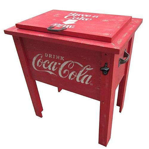Leigh País Cp 98100 Coca Cola Refrigerador De La Vendimia,