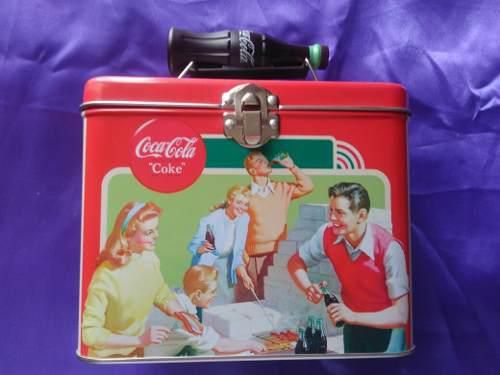 Lonchera Coca Cola De Colección Vintage Nueva