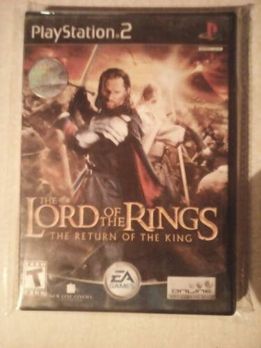 Lord Of The Rings: The Return Of The King Ps2 Excelente
