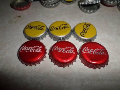 Lote 256 Corcholatas Coca Cola Tapaderas Para Manualidades