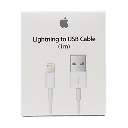 Lote Con 10 Cables Cargador Lightning Para Iphone 6,7,8 X