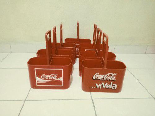 Lote De 11 Porta Envases Coca Cola