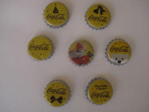 Lote Fichas Ó Corcholatas Navideñas Coca Cola De Coleccion