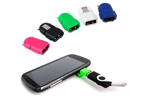 Mayoreo 10 Pzas Mini Adaptador Otg Micro Usb Androide