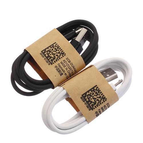 Mayoreo Paquete De 10 Cables Micro Usb V8 Negro Y Blanco