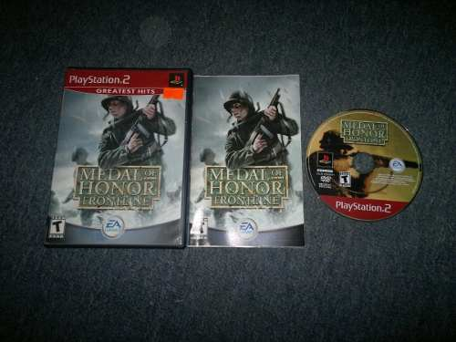 Medal Of Honor Frontline Completo Para Play Station 2