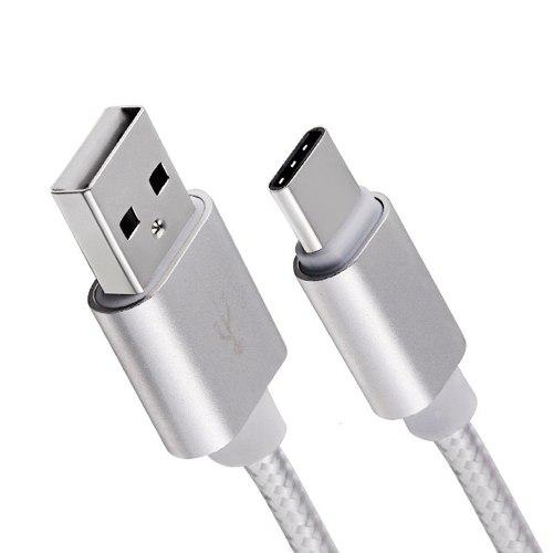 Mini Cable Usb Tipo C Carga Rápida 25 Centímetros Nylon