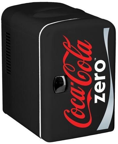 Mini Enfriador Personal 6 Latas Coca Cola Zero Kwcze