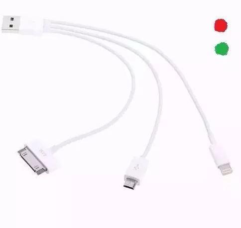 Pulpo Multicargador Usb Iphone Ipod Ipad Mini Air Lightning