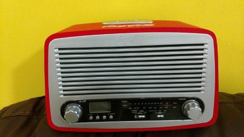Radio Coca Cola Modelo Retro Nuevos