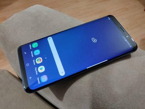 Remato Samsung Galaxy S9 Plus 64gb Azul Libre Telcel 4g Chec