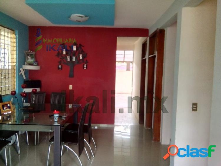 Renta Casa 3 recamaras Plan de Ayala Tihuatlan Veracruz,