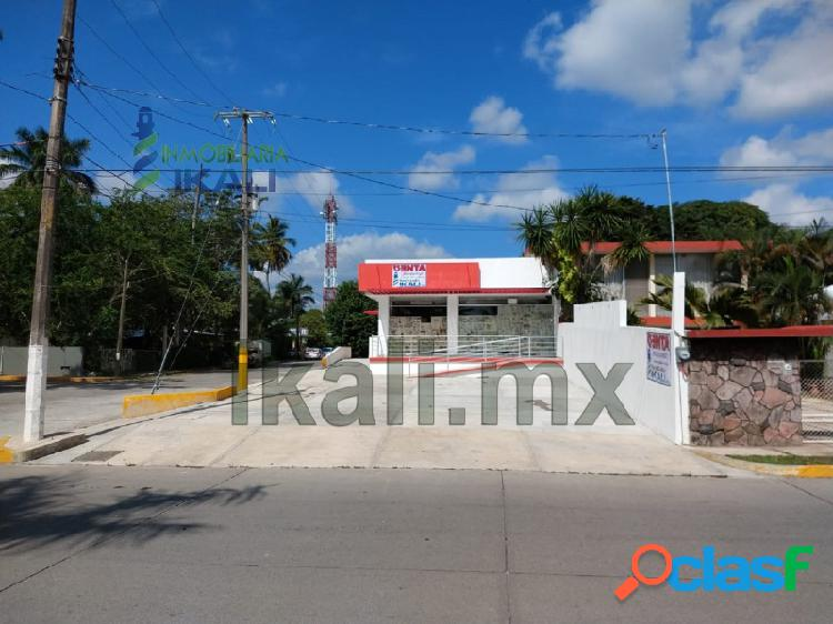 Renta Local Comercial frente al río Tuxpan Veracruz, Adolfo