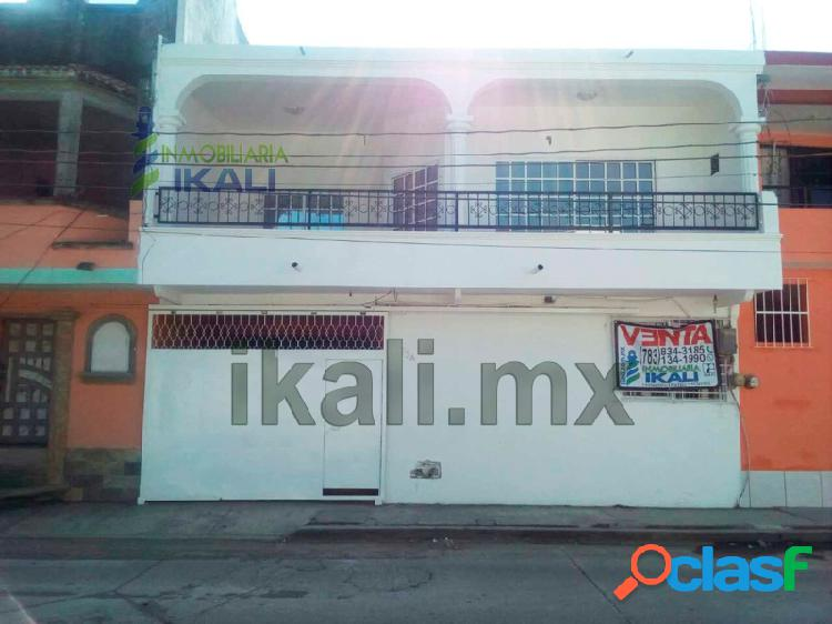 Renta casa 2 recamaras 2 pisos col. Anahuac Tuxpan Veracruz,