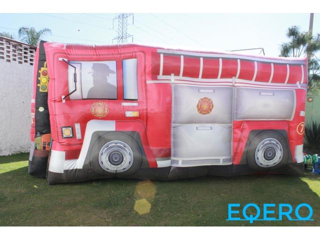 Renta de brincolin camión de bomberos en ixtlahuacan