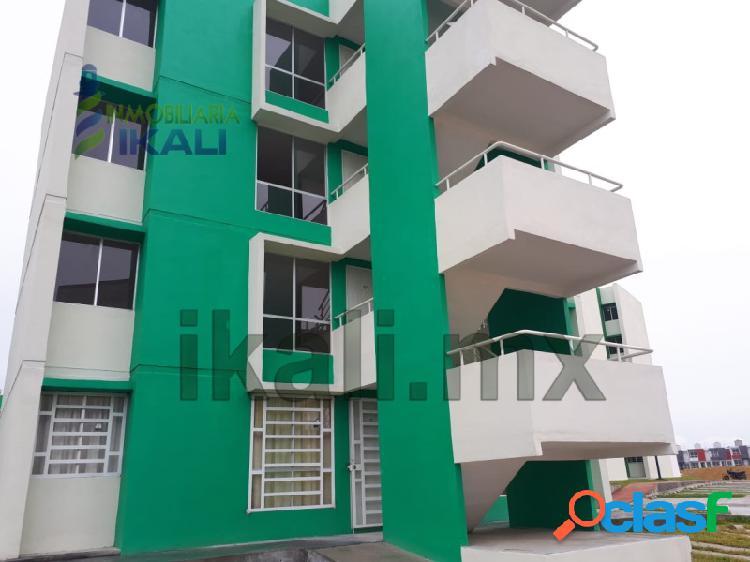 Renta departamento 2 Recamaras 1° piso Cabo Alto Tuxpan