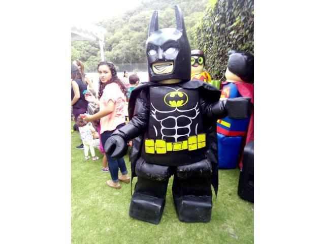 SHOW INFANTIL DE BATMAN Y SUPERMAN EN HIDALGO