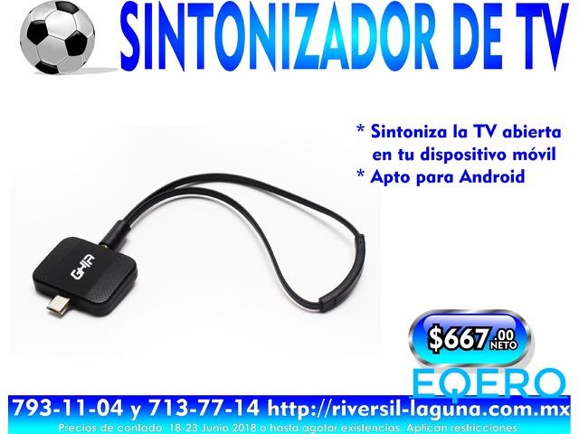 SINTONIZADOR DE TV PARA ANDROID