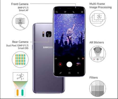 Samsung Galaxy S8 Plus 64gb Negro-nuevo