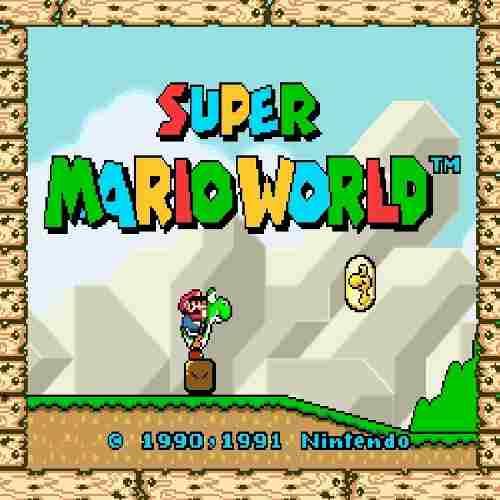 Super Mario World De Super Nintendo Para Tu Computadora (: