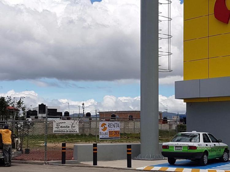 Terreno Comercial en renta,Santa Matilde, (Conurbado a
