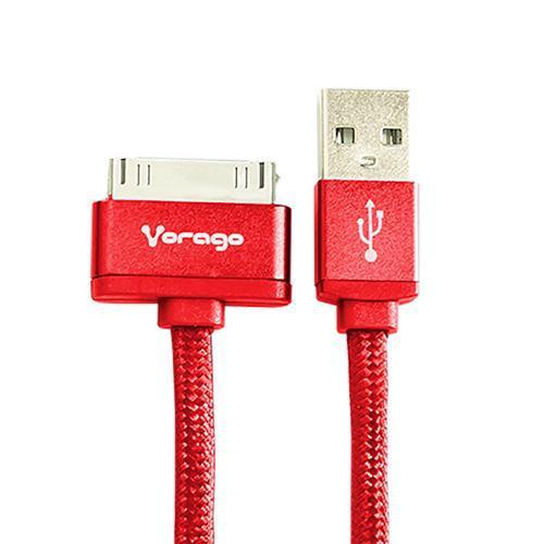 Vorago Cable Usb Carga Y Datos Iphone 4 4s 100cm Cab-118 Rj