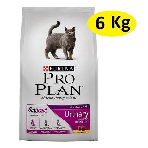 Alimento Croquetas Purina Pro Plan Gato Urinary 6kg C/envío