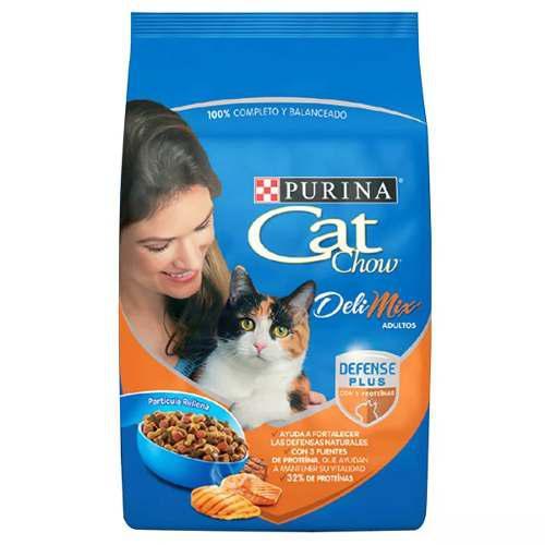 Alimento Para Gato Cat Chow Deli Mix 15 Kg