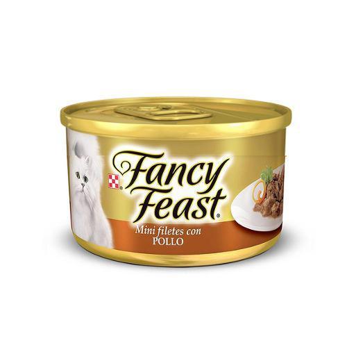 Alimento Para Gato Fancy Feast Minifiletes Con Pollo 85 G