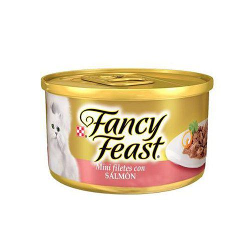 Alimento Para Gato Fancy Feast Minifiletes Con Salmon 85 G