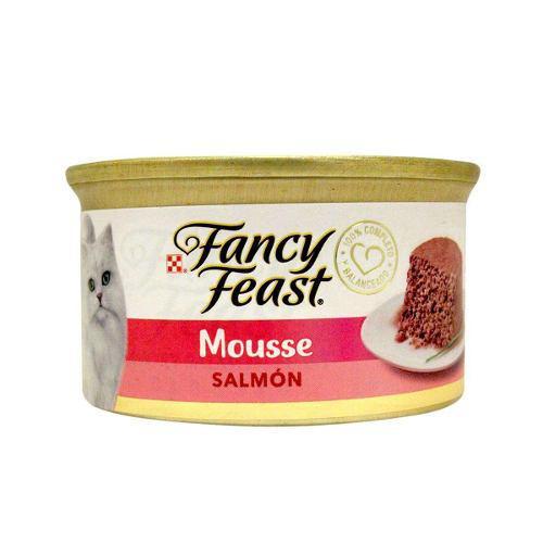 Alimento Para Gato Fancy Feast Mousse Salmon 85 G
