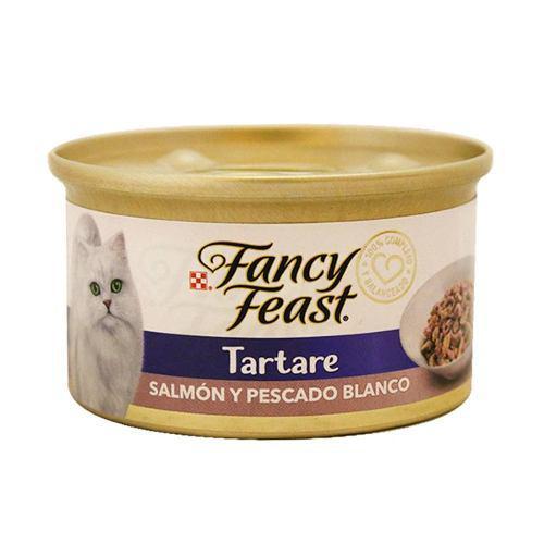Alimento Para Gato Fancy Feast Salmon & Pescado Blanco 85g