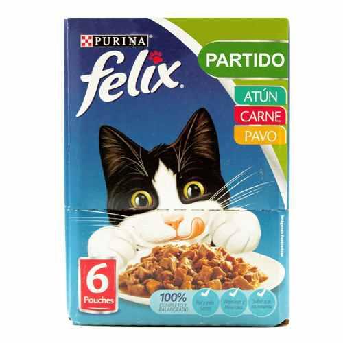Alimento Para Gato Felix Con Six Pack 510 G