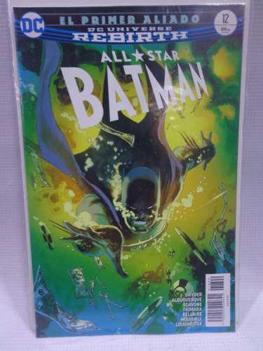 All Star Batman Rebirth Vol.12 Dc Comic´s Televisa 2018