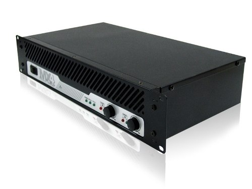 Backstage Amplificador De Potencia 400w 2 Ohms Rms Mx4