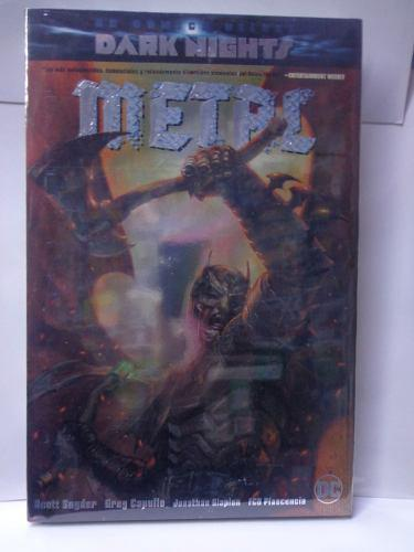 Batman Dark Nights Metal Portada 1 Dc Deluxe Pasta Dura