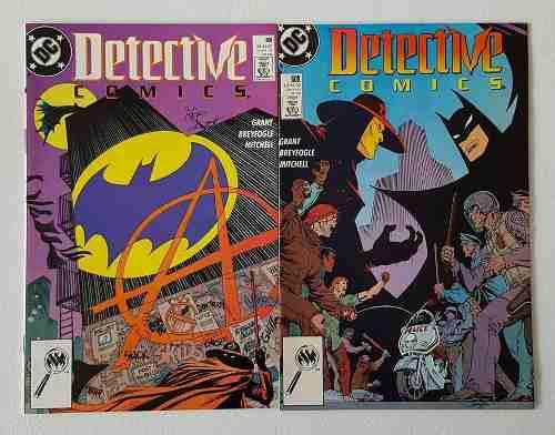 Batman Detective Comics 608 Y 609 Primera Aparicion Anarquia