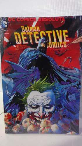 Batman Detective Comics Vol.1 Dc Absolute
