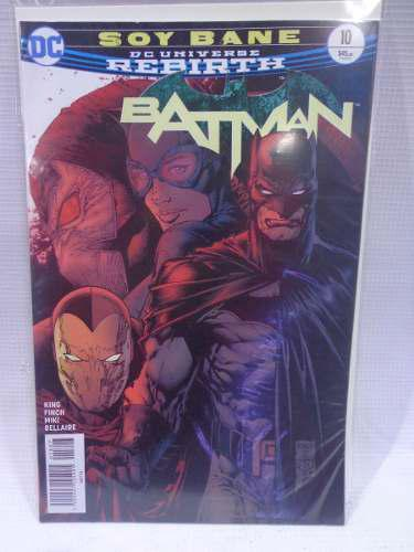 Batman Rebirth Vol.10 Soy Bane Dc Comic´s Televisa 2018
