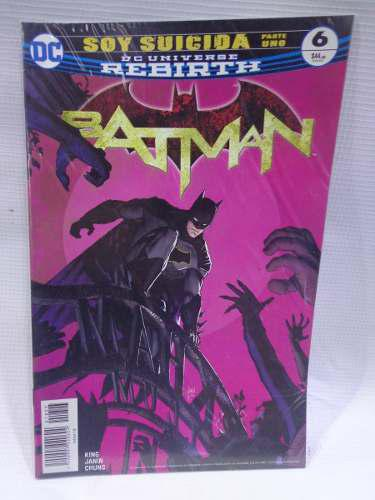 Batman Rebirth Vol.6 Soy Suicida Dc Comic´s Televisa 2018
