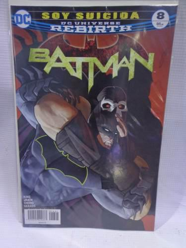 Batman Rebirth Vol.8 Soy Suicida Dc Comic´s Televisa 2018