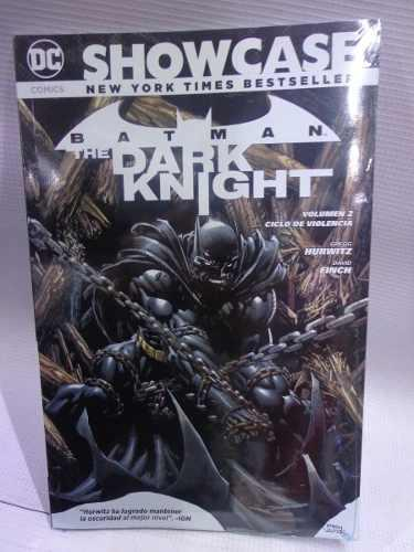 Batman The Dark Knight Vol.2 Ciclo De Violencia Dc Showcase