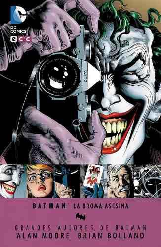 Batman The Killing Joke Deluxe Edition Español Pasta Dura