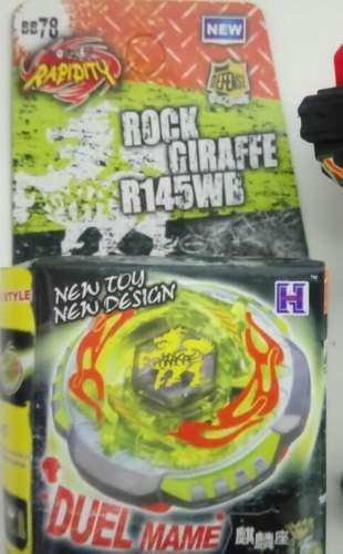 Beyblade Rapidity Rock Zurafa Metal Masters