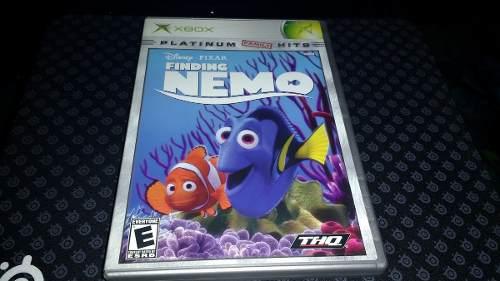 Buscando A Nemo Xbox Completo Sin Rayones Con Garantia