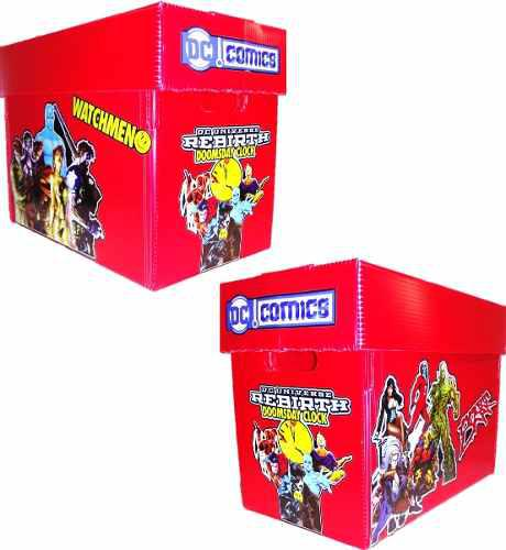 Caja Para Comics Dc Justice League Dark Watchmen Constantin