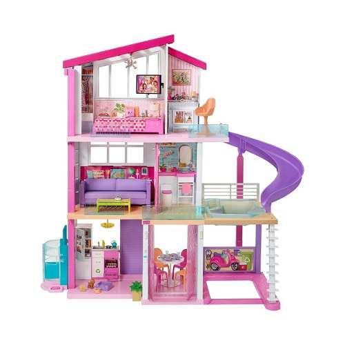Casa De Muñecas De Los Sueños Barbie 360 Mattel Fhy73