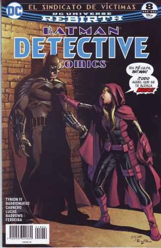 Cómic Dc Universe Rebirth Detective Batman # 8 Nuevo