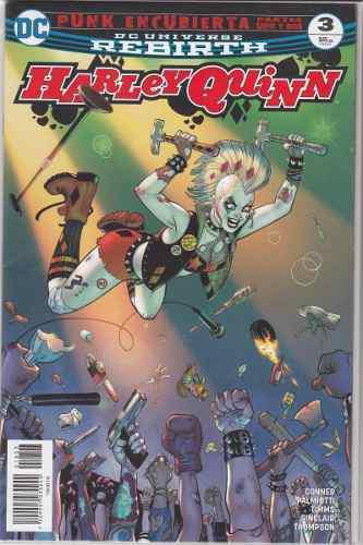 Cómic Dc Universe Rebirth Harley Quinn # 3 Nuevo Español