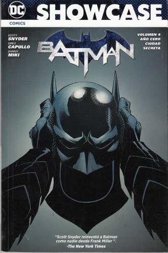 Cómic Showcase Batman Volumen 4 Saga Año Cero